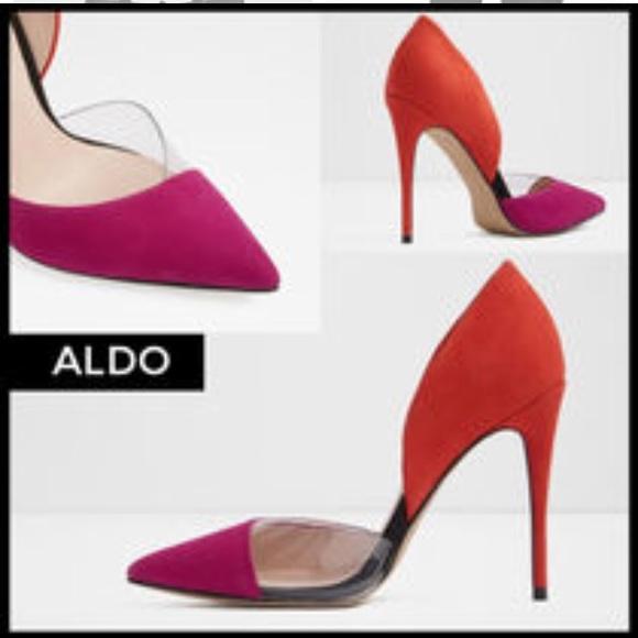 f7a88c9419a2 Aldo Shoes - Aldo Legiralia fuschia heel